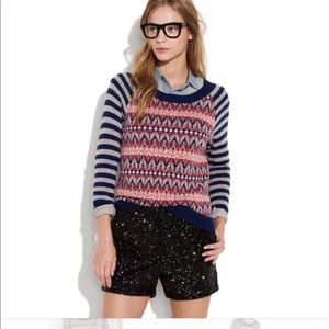 Madewell Wallace north isles sweater small